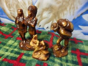 Vintage 1960's  AMY figurines,  Canadian Made, 3 for $200.