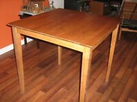 dining table with 4 stools