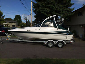 Excellent Campion Sport Cuddy; w/wakeboard tower; cuddy cabin