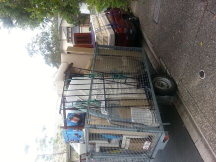 From $35 ute/trailer and man. Removals, deliveries and waste removal.  Brisbane City Brisbane North West Preview