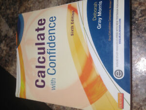 Elsevier- Calculating With Confidence Nursing Textbook