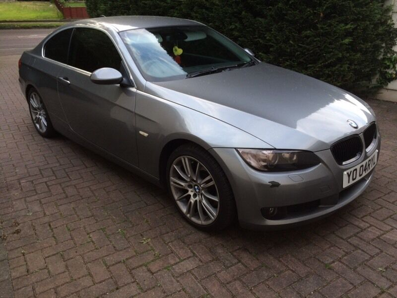 2007 BMW 3 Series 325i E92 Coupe Space Grey Full Red M Sport