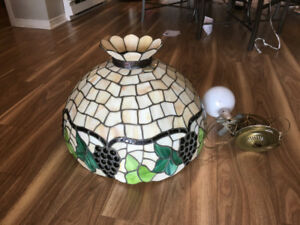 Tiffany Style Swag Lamp Hanging Light