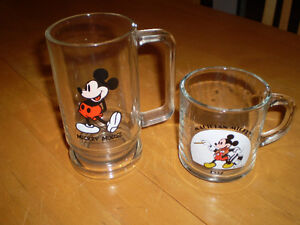 VINTAGE MICKEY MOUSE MUGS
