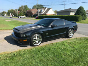 Mustang supercharged GT500 cobra roush clone