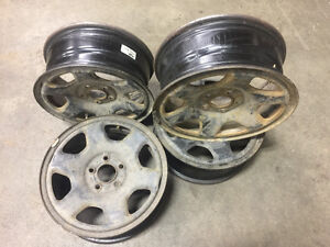 """16"""" Steel Ford Rims"""