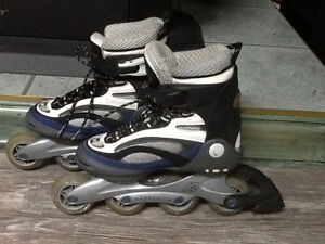 patin a roues alignees