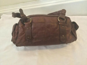Brown faux leather Hobo shoulder bag -  best offer