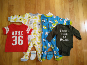 NWT 0-3 mth clothes