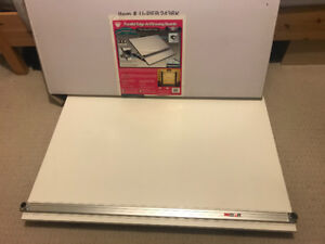 "24""x36"" parallel edge drafting board"