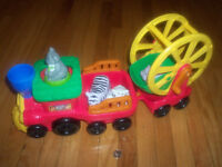 Circus Truck Toy & Animals