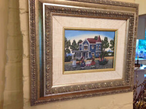 Catherine Karnes Munn Picture, beautifully framed...$25