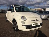 2013/13 Fiat 500 1.2 69bhp s/s POP LONG MOT PX WELCOME