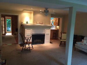Beautiful house on river in private area minutes from Orillia