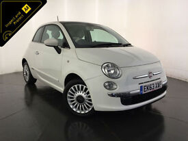 2013 63 FIAT 500 LOUNGE 3 DOOR HATCHBACK 1 OWNER FROM NEW FINANCE PX