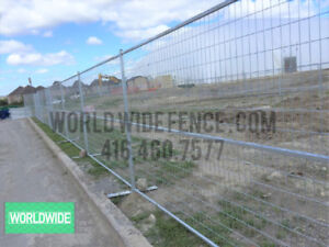 6x10 FENCE PANELS - Temporary Fencing Construction Job Site Fast