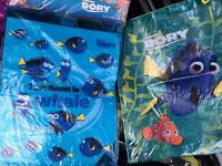 Two Brand New Finding Dory Swimming Bags