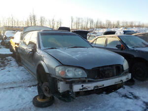 2003 Nissan Maxima Now Available At Kenny U-Pull Cornwall