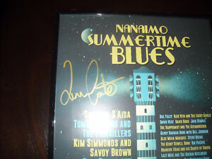 NANAIMO SUMMERTIME BLUES POSTER SIGNED by TOMMY CASTRO