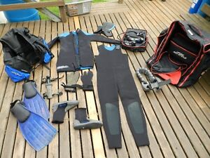 Scuba Gear  --  Complete Set or Separate Items