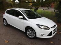 Ford Focus 1.6 TDCi (115ps) Titanium Tdci 5dr DIESEL MANUAL 2012/12