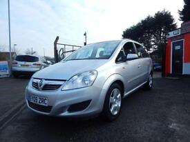 2009 Vauxhall Zafira 1.9 CDTi Exclusiv [120] 5dr Low mileage,7 seater,12 mont...