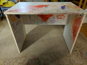 Simple child's desk