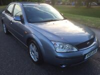 P/X TO CLEAR 2001 FORD MONDEO LX TDDI 2.0L DIESEL 4 DOOR SALOON LOW MILEAGE NEW CLUTCH AND FLYWHEEL
