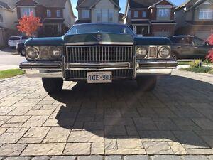 1973 Cadillac Coupe DeVille Kitchener / Waterloo Kitchener Area image 2