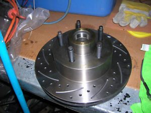 """Ford 11"""" cross drilled rotors Strathcona County Edmonton Area image 1"""