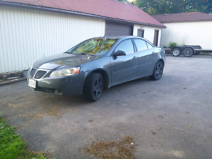 2009 Pontiac g6 safetied