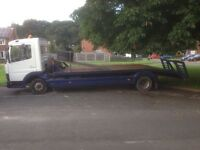 Mercedes Atego Recovery lorry 7.5 tonnes