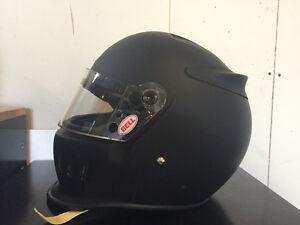 Bell auto racing helmets
