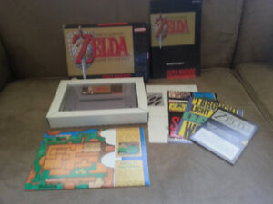 Zelda A Link to the Past, SNES, Complete in Box