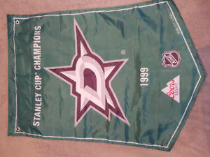 Dallas Stars Stanley Cup Banner
