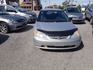 2001 Honda Civic Lx safety and E-test