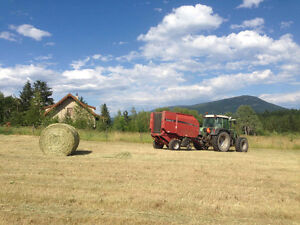 Grass Hay Organic and Local