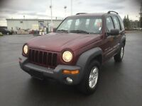 Jeep Liberty  , certified ,on special