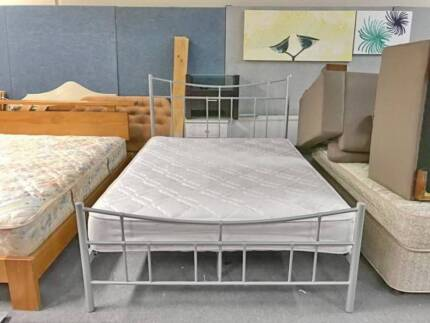 DELIVERY TODAY MODERN Queen bed & COMFORT mattress SALE NOW