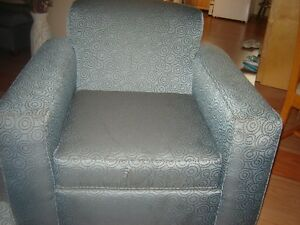 Chair with Ottoman & Sofabed