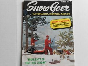 WANTED: Looking to BUY old snowmobile magazines from the 1960's