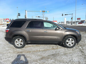 2009 GMC ACADIA SLT *LOADED* LEATHER* SUNROOF*3RD ROW*