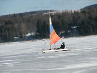 Home Built Ice Boat