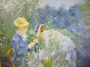 "Berthe Morisot ""Young Woman Sewing in the Garden"" Art Print Stratford Kitchener Area image 5"