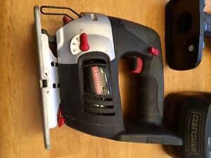 Craftsman Drill, Jigsaw, Charger. 19.2 V Peterborough Peterborough Area image 3