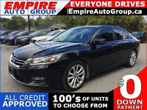 2013 HONDA ACCORD TOURING * LEATHER * SUNROOF * NAVIGATION * REA
