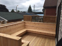 NOW TAKING NEW BOOKINGS FOR DECKS