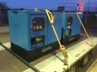 Generators 2x gen set super silent 10 kva 1500 rpm ( no vat )