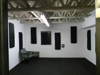 Local de pratique a partager/Ahuntsic/Rehearsal space to share