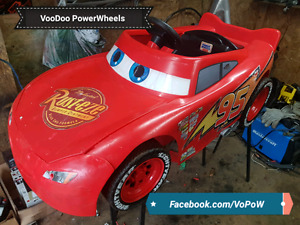 12v power wheels lightning McQueen kids ride on